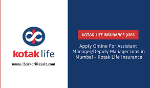 Apply Online For Assistant Manager Deputy Manager Jobs In Mumbai