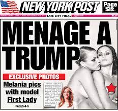 Melania Trump s girl on girl photos from racy shoot revealed New.