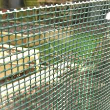 plastic garden mesh green 5mm holes product image