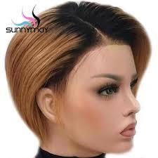 <b>Sunnymay 13x4</b> 150% Density <b>Ombre</b> Human Hair Wig Pre Plucked ...