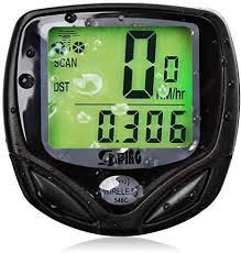 BEEWAY® Wireless Bicycle Odometer Auto Wakeup <b>Bike Computer</b> ...