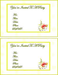 free invitation templates printable cards for naming ceremony to print birthday t video maker invita