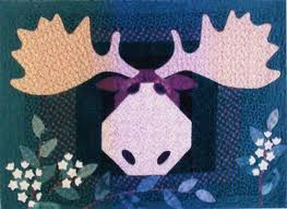 Moose on the Loose Quilt Pattern by Prairie Grove Peddler ... & Moose on the Loose Quilt Pattern by Prairie Grove Peddler Adamdwight.com