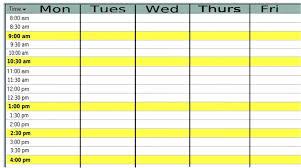 Monday To Friday Schedule Monday Through Friday Calendar Diigo Groups
