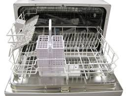 Miniature Dishwasher Amazoncom Spt Countertop Dishwasher Silver Appliances