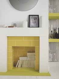colours pack of 17 yellow toledo high gloss stripe wall tiles x 5397007010237