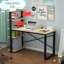 office desk with bookshelf. Small Desk With Bookshelf Computer Simple Desktop Home  Combination Office .