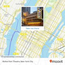 William Kerr Theatre Seating Chart How To Get To Walter Kerr Theatre In Manhattan By Subway