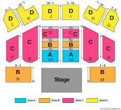 Morongo Ballroom Seating Chart
