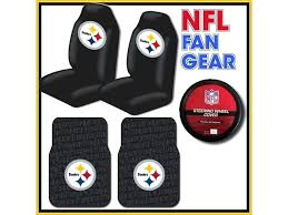 pittsburgh steelers car seat covers fan gear bucket seat covers pair 2 piece pittsburgh steelers baby