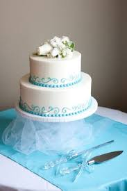 simple blue wedding cake. Contemporary Wedding This Is What I Want For My Cake Just Three Tiers Wedding In Simple Blue Cake I
