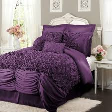 purple comforter sets king size within bed bedding steel factor 19 idea 15