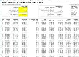 How To Amortization Schedule Excel Sheet Free Amortization Calculator With Extra Payments Loan