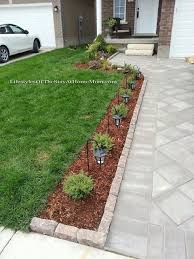 Stylish Driveway Landscaping 1000 Ideas About Driveway Landscaping On  Pinterest Sidewalk