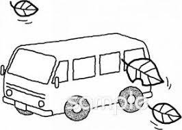 秋 観光バスイラストなら保健室小学校幼稚園向け保育園向けの