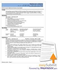 free resume template microsoft word  seangarrette coadministrative assistant resume templates word