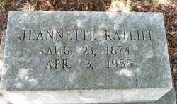 Jeannette Ratliff (1874-1955) - Find A Grave Memorial
