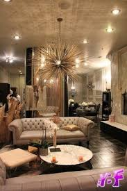 beige furniture. dark wood floors beige furniture gold sputnik chandelier old hollywood b