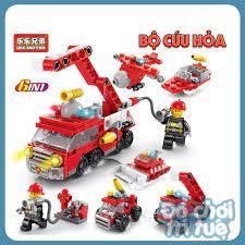 Bộ ghép hình Lego 6 trong 1 giá rẻ đề cho bé trai, bé gái - Đồ chơi trí tuệ Hà  Nội chính hãng 60,000đ