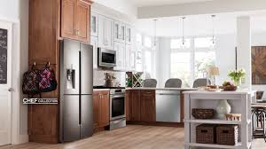 Non Stainless Steel Appliances Kitchen Elegant Kitchen Design With Best Applianceland Spy