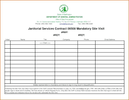 Sign In Sheet Template Microsoft Visitor Log Sheet Template Medical Office Sign In Compliant Images