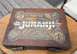 Jumanji Wooden Board Game Jumanji Inspired Wooden Board Game Wooden board games 17