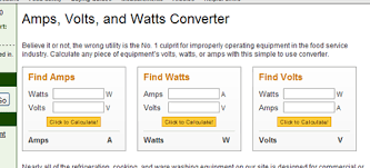 Kw To Amps Conversion Chart Volt Ampere Kw Volt Ampere Calculator
