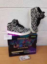 Skechers Boys Energy Lights Elate Trainers Kids Energy Light Shoes Original Lights Version Room