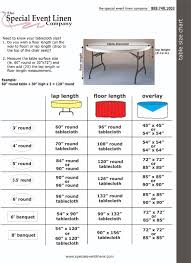 your tablecloth size
