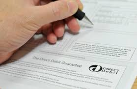 Direct Debit Form Vehicle tax Direct Debit - GOV.UK