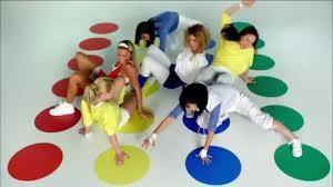 Gioco Da Tavolo Giallo : Twister gioco da tavolo giocattoli per bambini