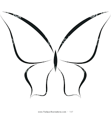 Butterfly Templates For Kids Outline Butterfly Printable Kids