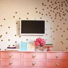 hot polka dot wall stickers child kids