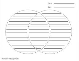 Venn Diagram With Lines Template Pdf Fresh Venn Diagram Template Pdf For Diagram Template 95 Venn Diagram