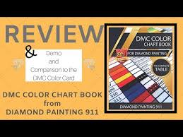 Review Of The Dmc Color Chart Book By Diamond Painting 911
