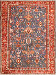 antique persian heriz serapi rug 48006 nazmiyal