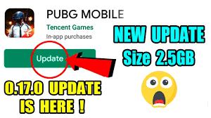 pubg Mobile 0.17.0 Update Size 2.5gb ...