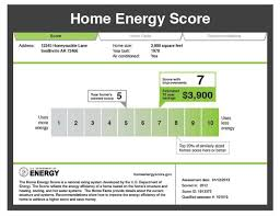 designing an energy efficient home. the home energy score is a national rating system developed by u.s. department of designing an efficient
