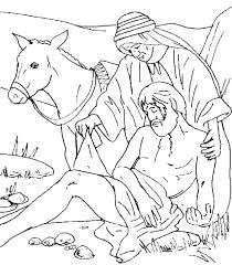 Good Samaritan Coloring Pages Startling The Good Coloring Page