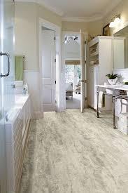 bathroom with luxury vinyl tile flooring