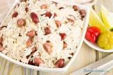 arroz con gandules y leche de coco