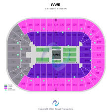 Greensboro Coliseum Seating Chart For Trans Siberian Orchestra Greensboro Coliseum Seating Chart