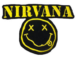 nirvana logo patch freetoedit - Sticker by devilgirl