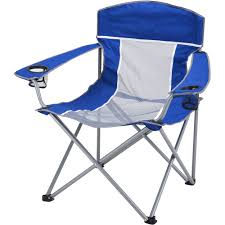 Comfort Chair Price Ozark Trail Folding Lounge Chair With 2 Cup Holders Blue