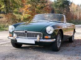 british classic car the mgb