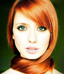 many redheads want to highlight the color of their eyes to make their red hair and ivory skin pop but just don t know how to do it