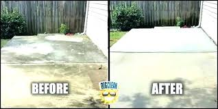 contemporary patio how to clean concrete patio without pressure washer cleaning for cleaning concrete patio