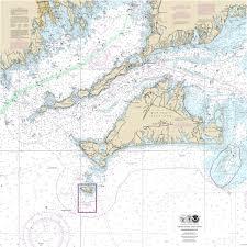 Marthas Vineyard And Buzzards Bay Nautical Chart Microfiber