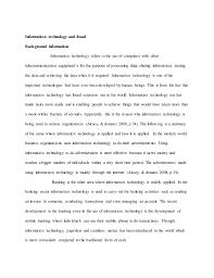 Essay Of Technology Technology Essays Rome Fontanacountryinn Com