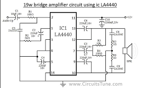 lm4440 la4440 20w audio amplifier 12v picture of untitled jpg